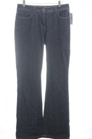 Boden Straight-Leg Jeans dunkelblau Casual-Look