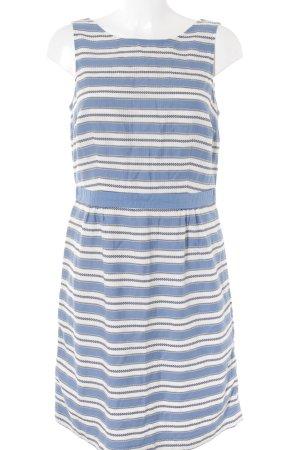 Boden Vestido playero azul aciano-blanco puro estampado a rayas look casual