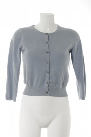 Boden Strick Cardigan blassblau Casual-Look