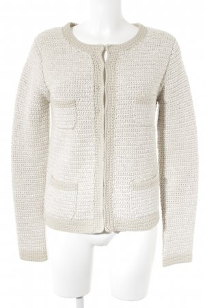 Boden Strick Cardigan wollweiß-creme Casual-Look