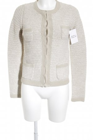 Boden Strickjacke beige-wollweiß Street-Fashion-Look