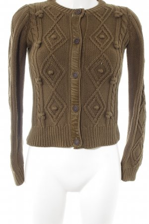 Boden Strickjacke olivgrün Casual-Look