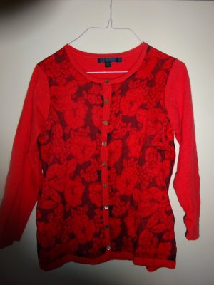Boden Strickjacke tomatenrot Gr36 (UK12) *top*