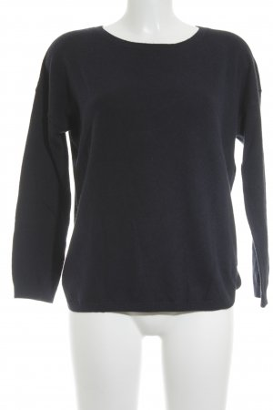 Boden Strickpullover dunkelblau Casual-Look