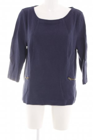 Boden Sweat Shirt blue striped pattern casual look