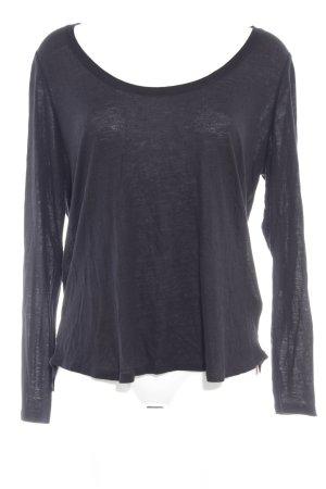 Boden Sweatshirt schwarz minimalistischer Stil
