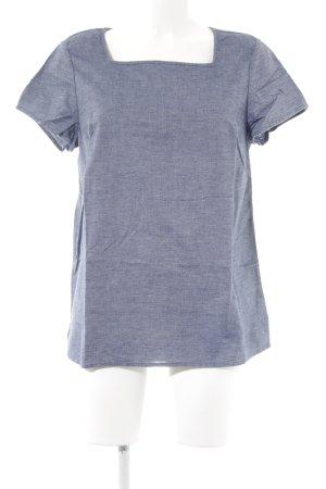 Boden T-Shirt blau Jeans-Optik