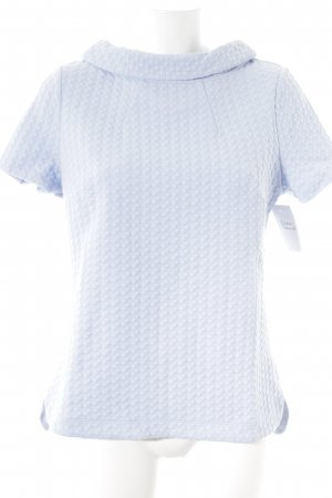 Boden T-Shirt himmelblau grafisches Muster Casual-Look