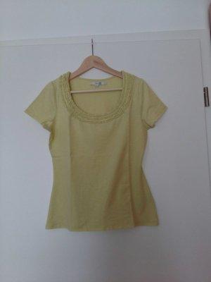 Boden T-Shirt mit Rüschenausschnitt