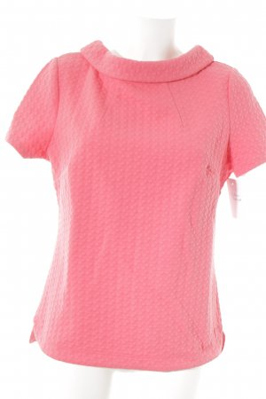 Boden T-Shirt neonpink grafisches Muster Casual-Look