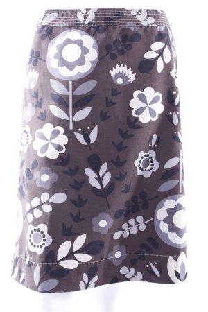 Boden Taillenrock grafischer Blumenprint