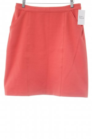 Boden Circle Skirt neon red business style