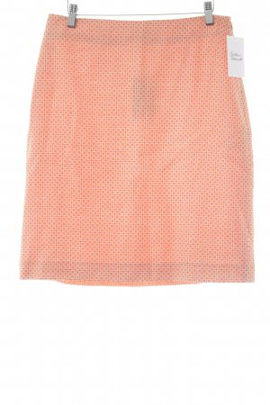 Boden Circle Skirt orange-natural white ethnic pattern casual look