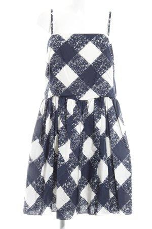 Boden Trägerkleid dunkelblau-weiß Casual-Look