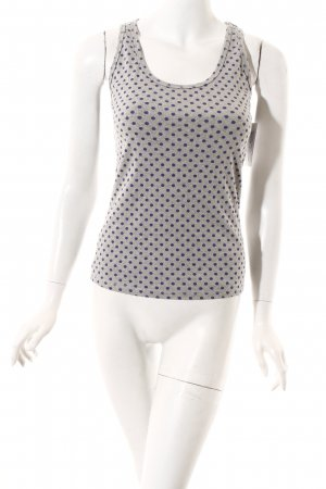 Boden Strappy Top light grey-lilac spot pattern casual look