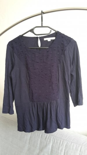 Boden Tunika blau M 38 UK 10 Shirt locker Bluse