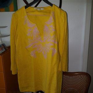 Boden Tunika Leinen mais gelb Gr.38 UK 10
