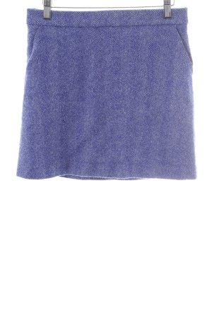 Boden Falda Tweed azul-blanco moteado look casual