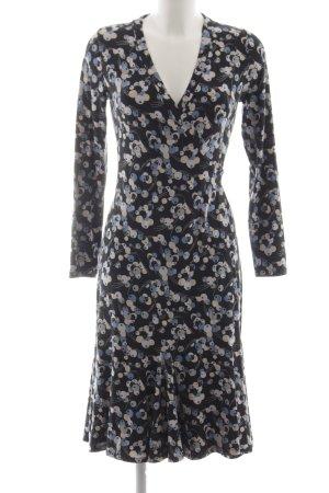 Boden Vestido cruzado estampado con diseño abstracto look casual