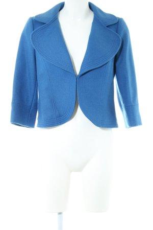 Boden Blazer de lana azul look casual