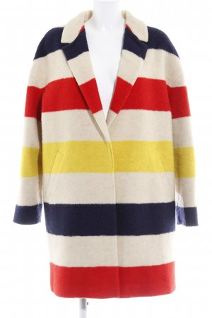 Boden Wollmantel Colourblocking Casual-Look