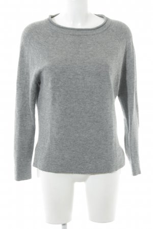 Boden Wollpullover grau Casual-Look
