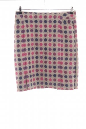Boden Wool Skirt spot pattern casual look