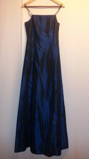 Bodenlanges Abendkleid Satin Optik