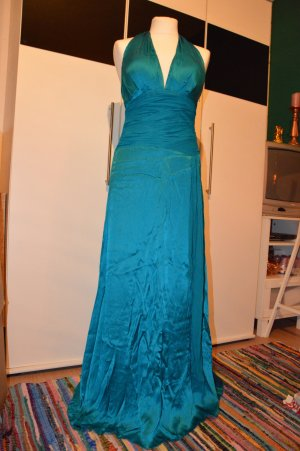 Sixth Sense Ball Dress petrol silk