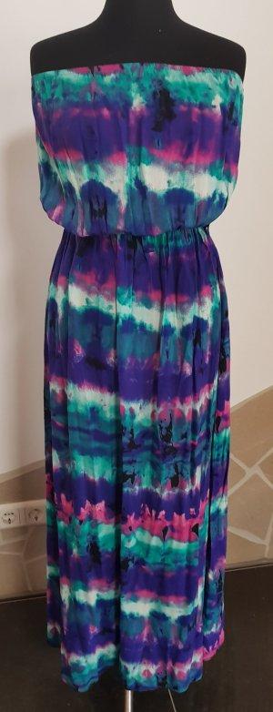Atmosphere Vestido bandeau multicolor Viscosa
