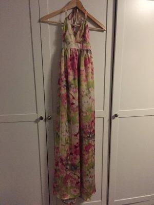 Bodenlanges buntes Kleid
