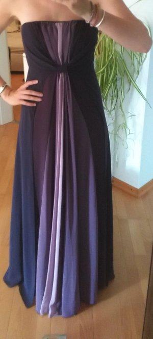 Zero Chiffon jurk lila-grijs-paars