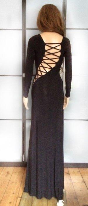 Bodenlanges Cut-Out-Kleid
