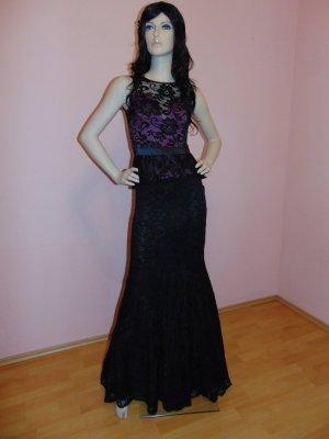 Bodenlanges, Figurbetontes Abendkleid - Sara Grösse 40