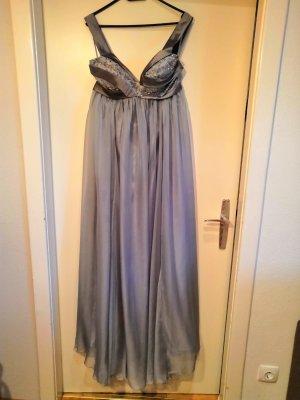 bodenlanges, fließendes Abendkleid aus Seide in Größe 40/ 42 *UNGETRAGEN*