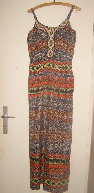 bodenlanges Hippie  Ethno Kleid