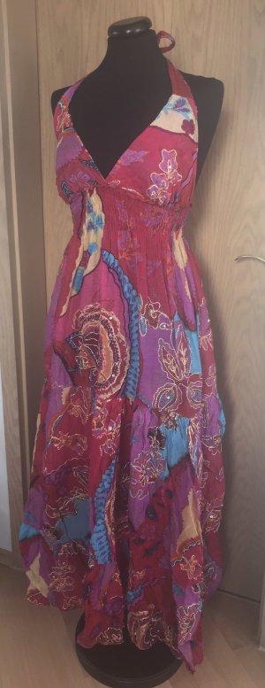 bodenlanges Hippie-Kleid