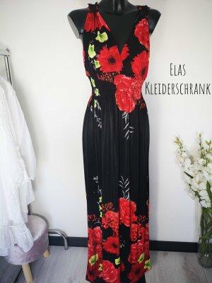 Hippie Dress black-red