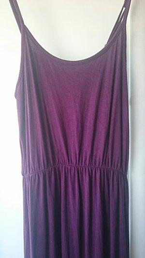 b.p.c. Bonprix Collection Robe longue violet foncé