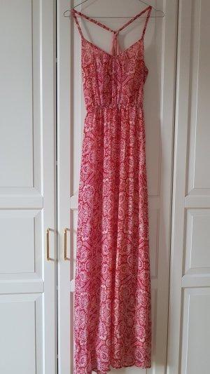 Bershka Vestido largo multicolor