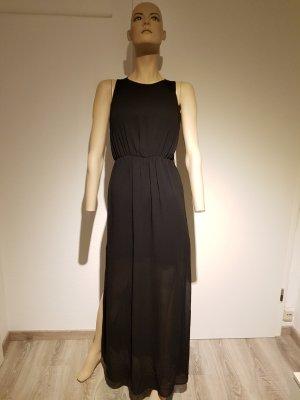 Bodenlanges Kleid mit Spitze in schwarz, neu mit Etikett