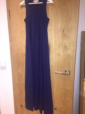Bodenlanges Michael Kors Kleid in navy gr. S