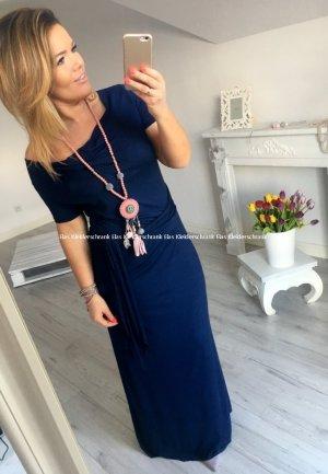 Bodenlanges oversize Kleid Maxikleid Cocktailkleid Abendkleid Carmen Kleid passt bei S-XL