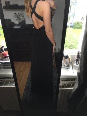 Bodenlanges, Rückenfreies Abendkleid
