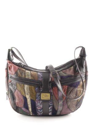 Bodenschatz Crossbody bag abstract pattern extravagant style