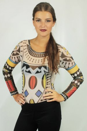 Bodysuit Blouse multicolored