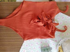 Pull & Bear Zwempak oranje