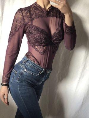 Blusa tipo body multicolor