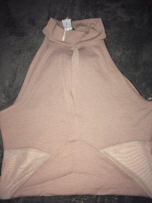Amisu Turtleneck Shirt pink-dusky pink