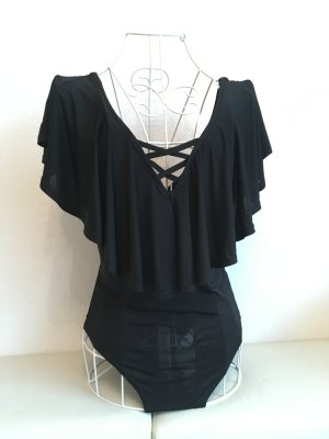Atmosphere Blusa tipo body negro